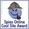 Spies Online Cool Site Award